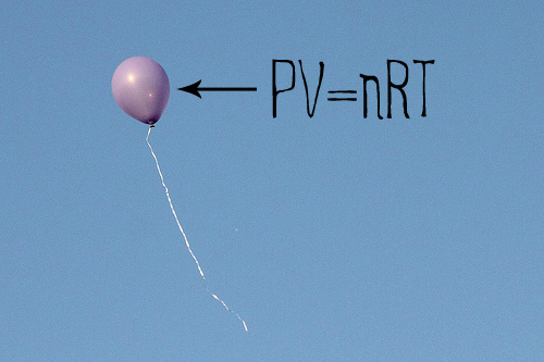 Balloon with PV=nRT