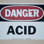 Acid Warning
