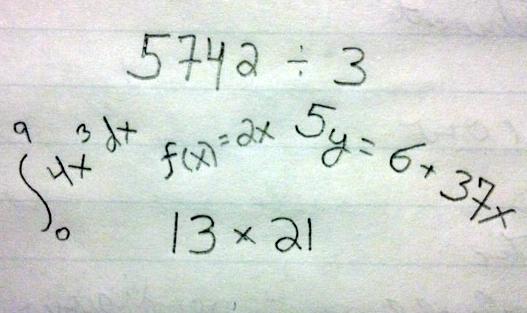Mathematics Trivia ChemistryTwig