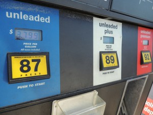 Gas Pumps Octane Rating
